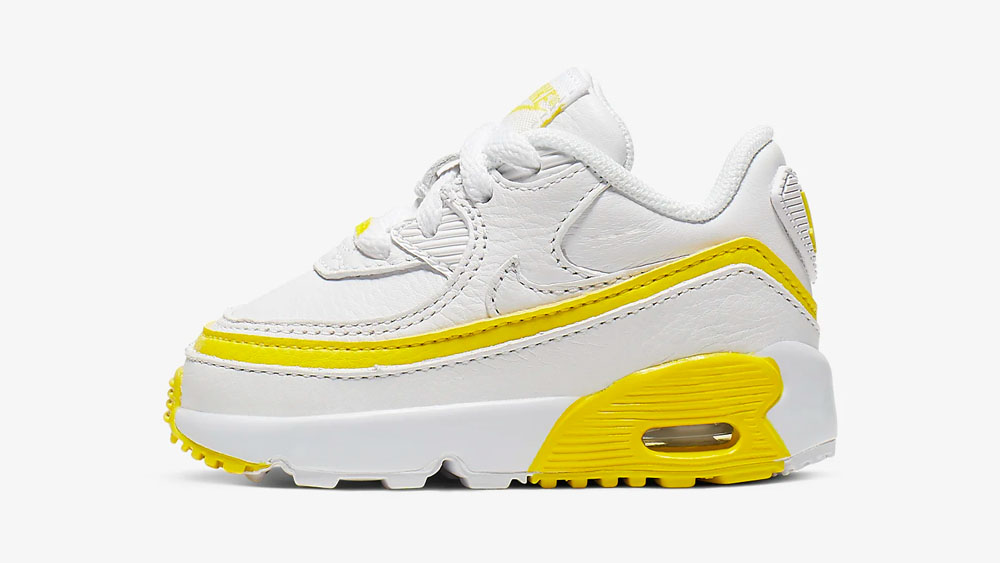 Nike x Undefeated Air Max 90 Opti Yellow