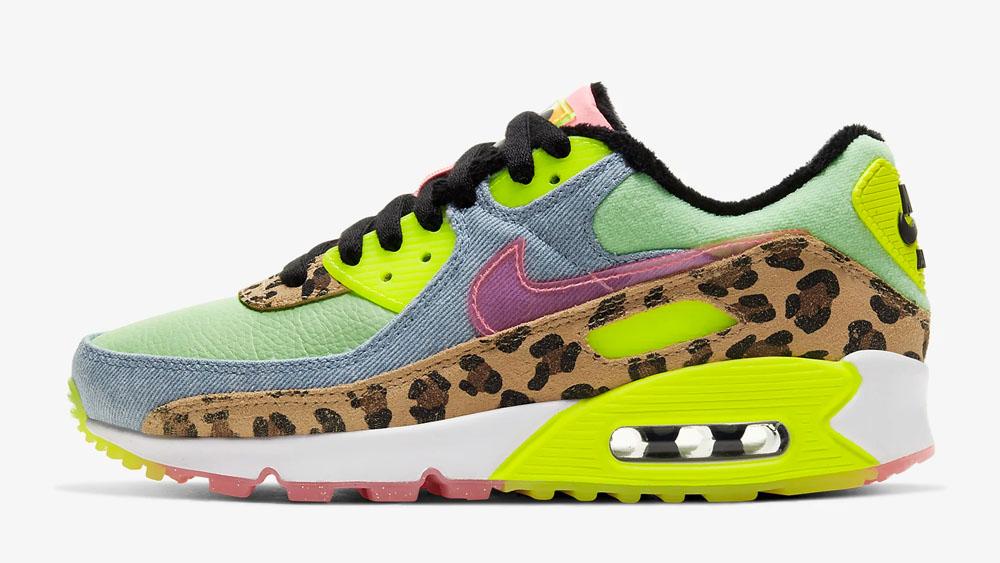 Nike Air Max 90 Leopard Lime