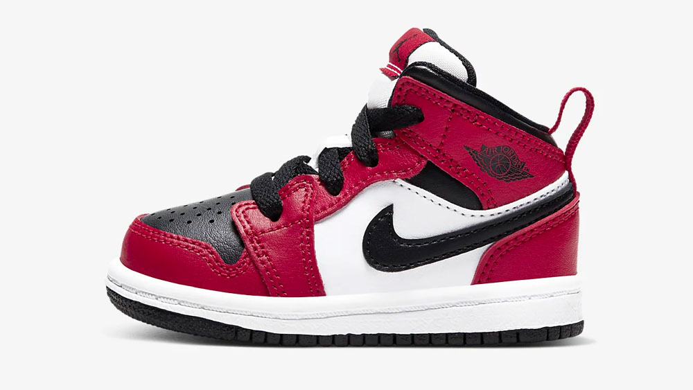Air Jordan 1 Mid Gym Red