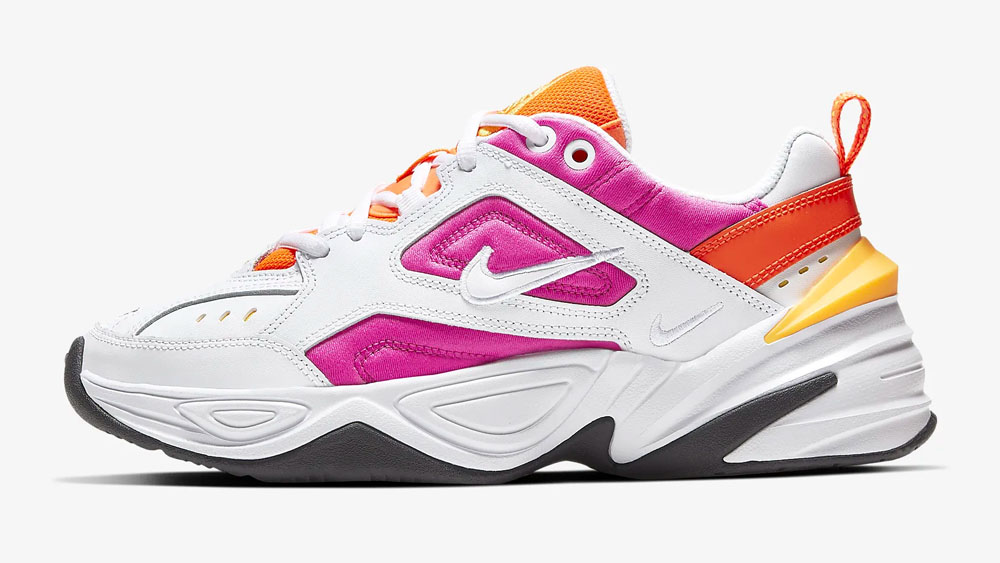 Nike M2K Tekno Pink Orange