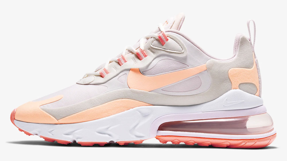 Nike Air Max 270 React Crimson Tint