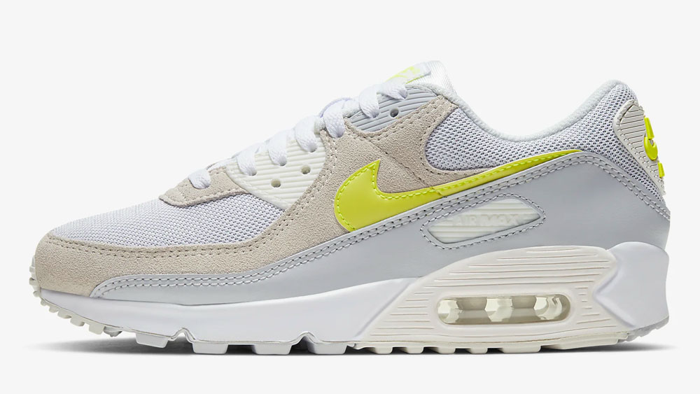 Nike Air Max 90 Grey Lemon Venom