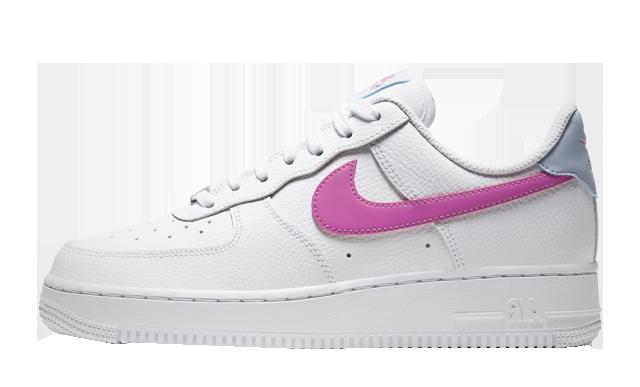 Air Force 1 Pink Hydrogen Blue