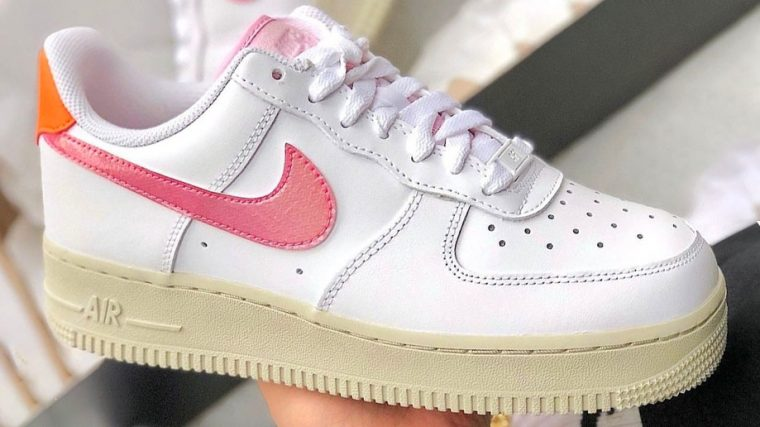 Air Force 1 White Coral Pink