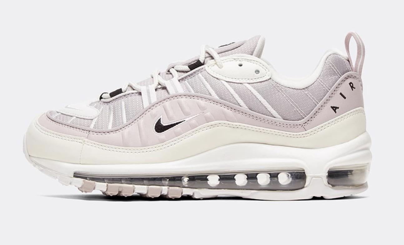 Air max 98 silver lilac