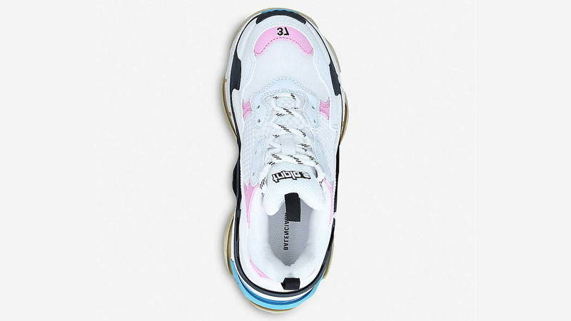 Balenciaga Triple S White Pink Middle