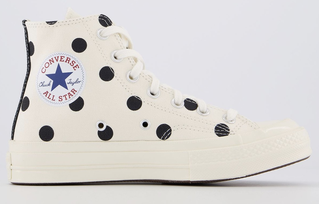 Comme Des GarconsX Play Cdg Trainers Polka White