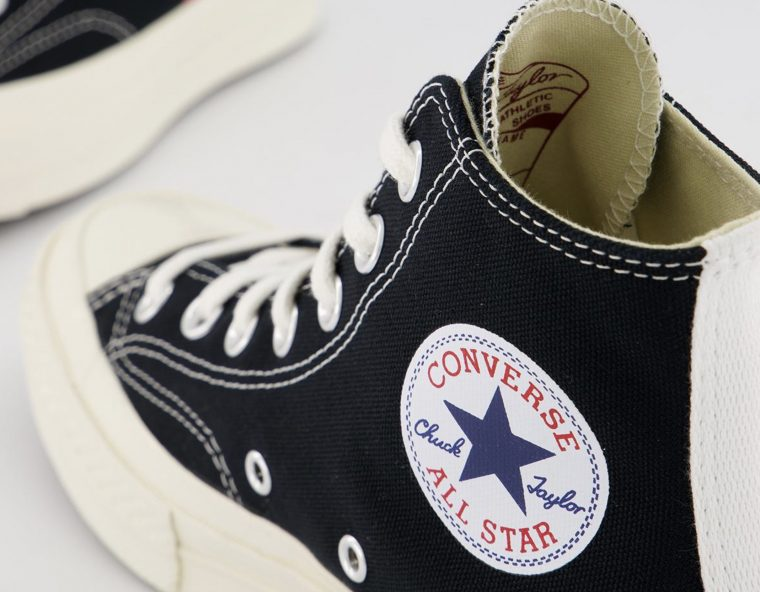 Comme des Garcons Play x Converse All Star Chuck Taylor Heart Black thumbnail image