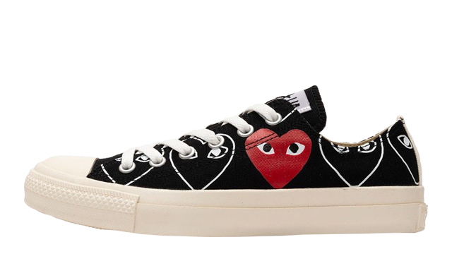 Comme des Garcons Play x Converse Chuck 70 Low Black Sail