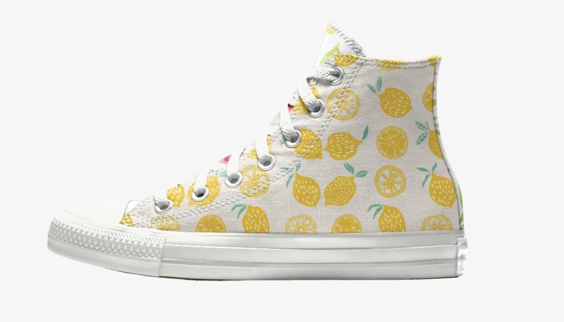 Converse Chuck 70 Customise Lemon