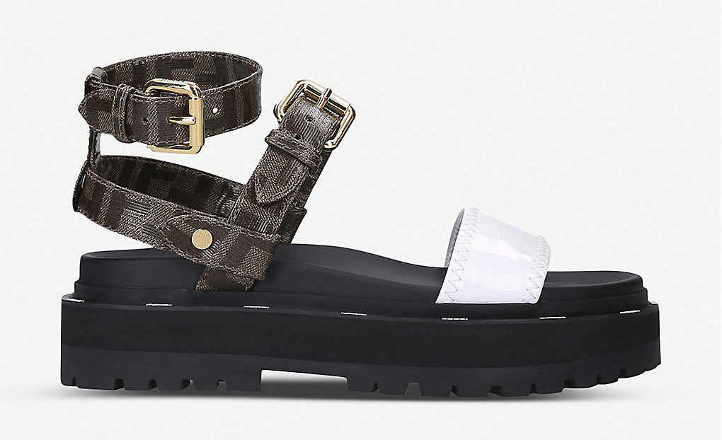 Fendi Flatform Sandal