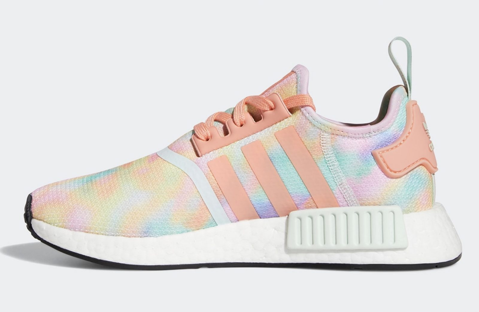 Get Colourful In The Tie-Dyed Upcoming adidas NMD R1 'Easter' left