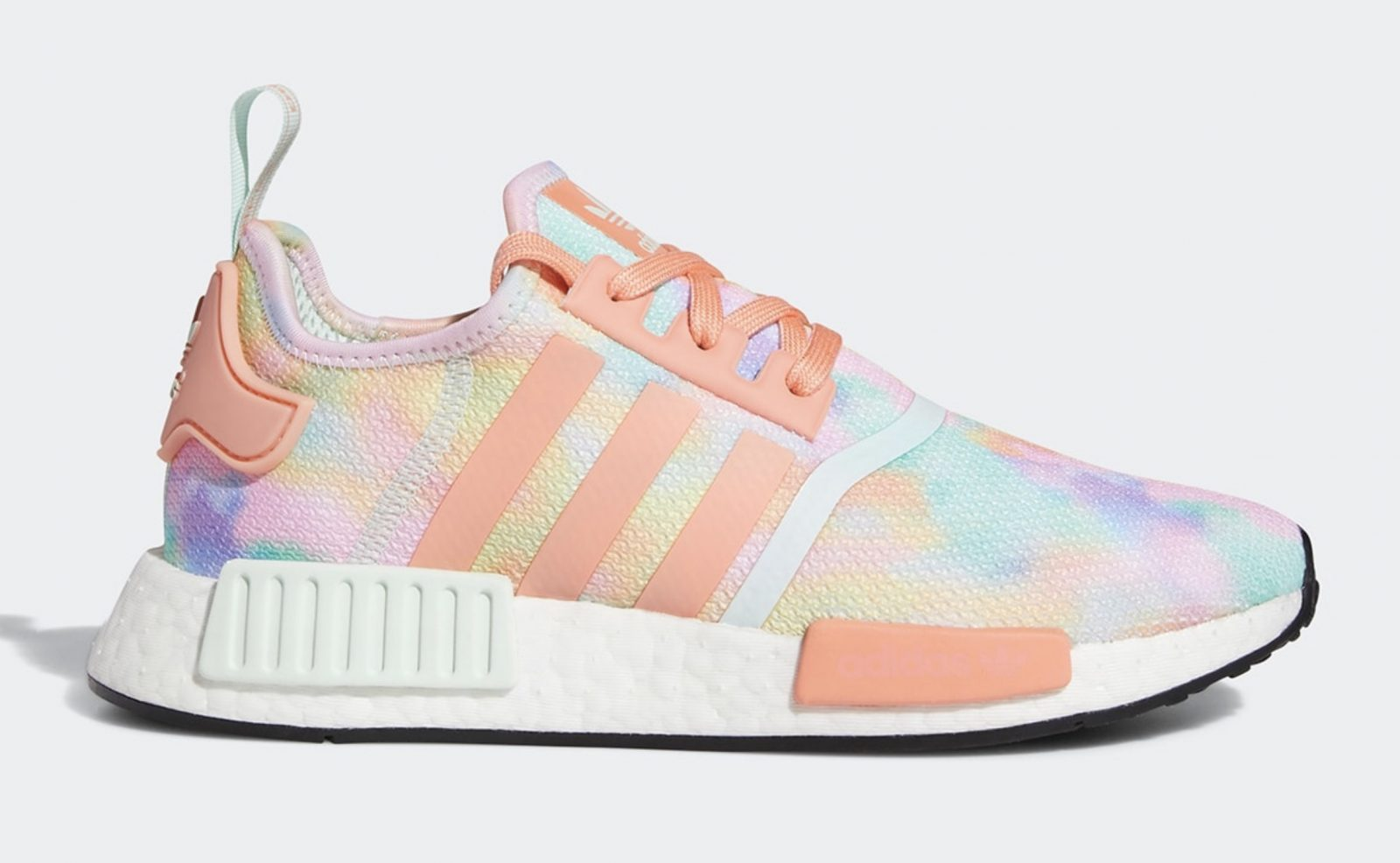 Get Colourful In The Tie-Dyed Upcoming adidas NMD R1 'Easter'