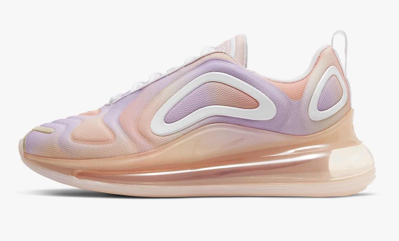 It Doesn't Get Prettier Than This Tie-Dye Style Air Max 720 'Print' In Light Violet 4