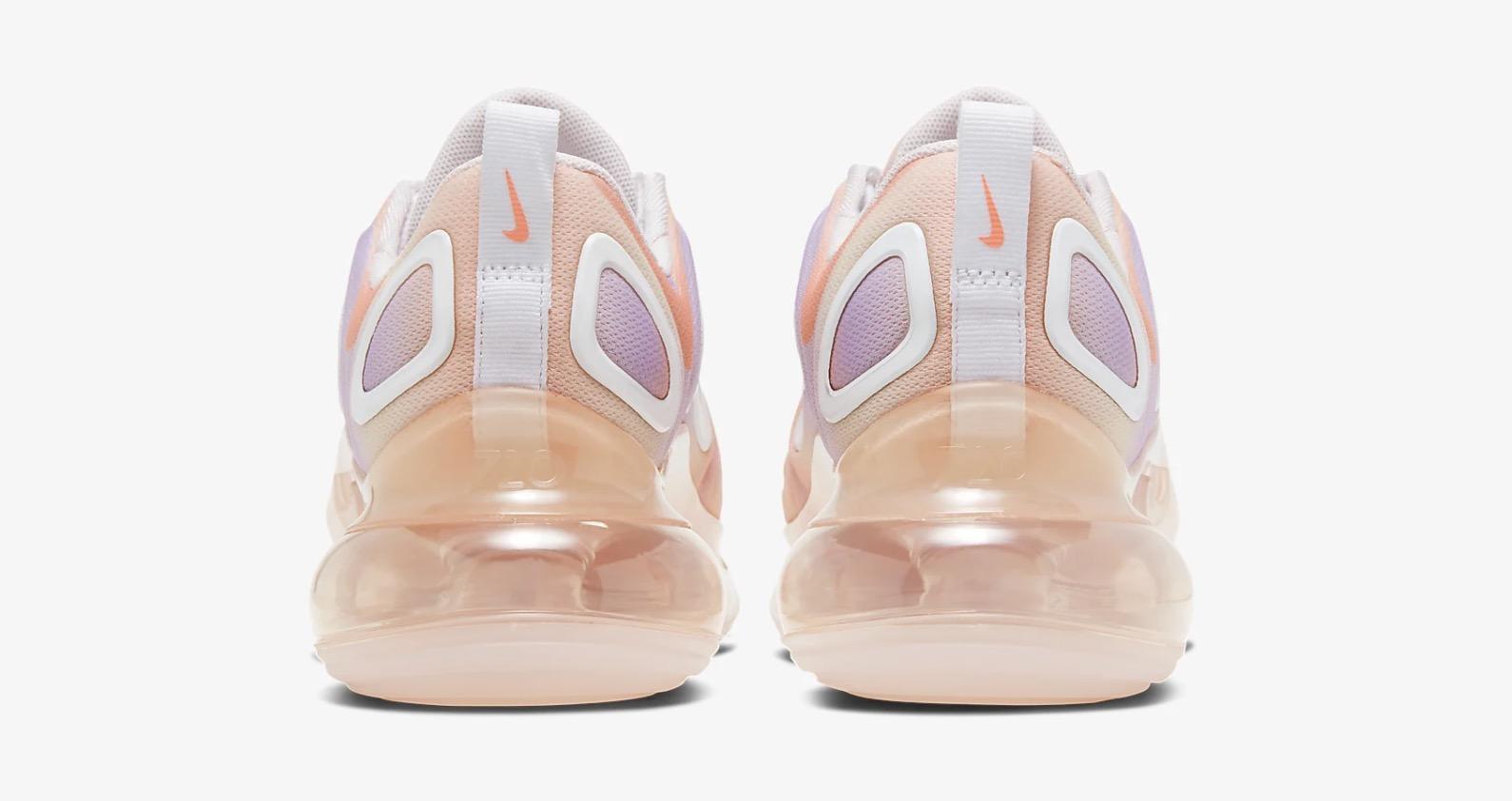 It Doesn't Get Prettier Than This Tie-Dye Style Air Max 720 'Print' In Light Violet 4 heel