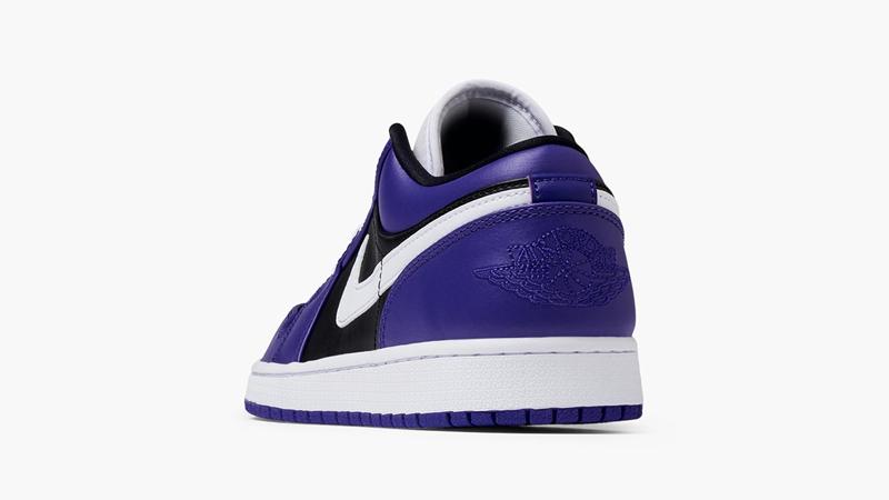 Jordan 1 Low Purple Black Back