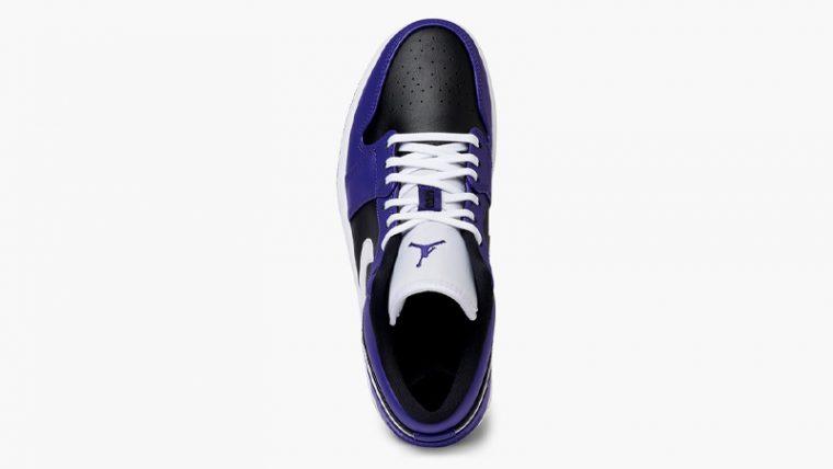 Jordan 1 Low Purple Black Middle thumbnail image