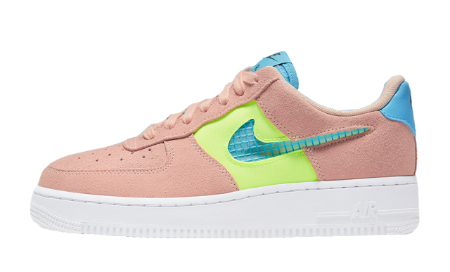 Nike Air Force 1 07 SE Washed Coral Ghost Green