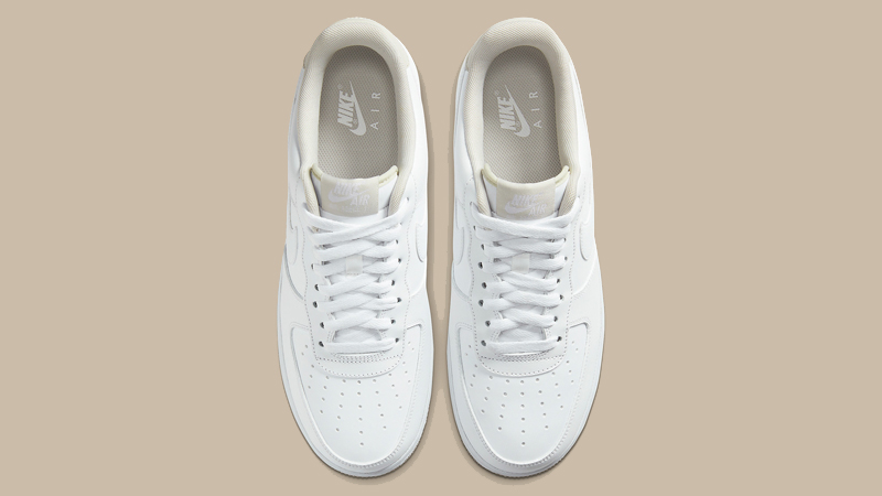 Nike Air Force 1 07 White Light Bone Middle
