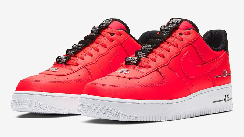Nike Air Force 1 Double AIR Red Front