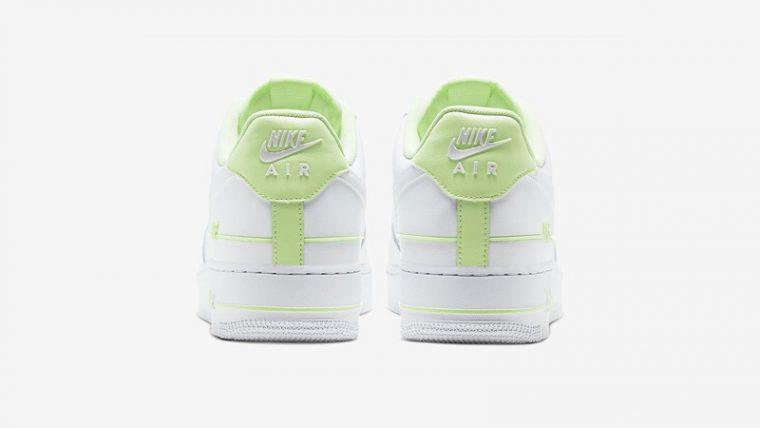 Nike Air Force 1 Double AIR White Volt Back thumbnail image