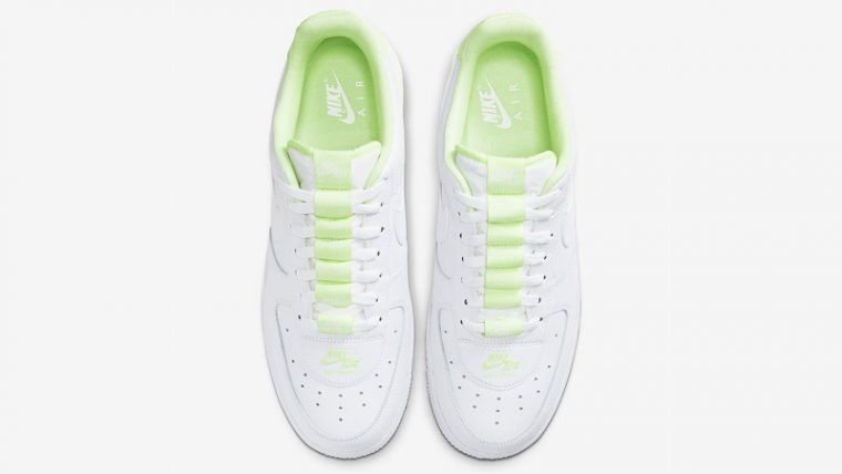 Nike Air Force 1 Double AIR White Volt Middle thumbnail image