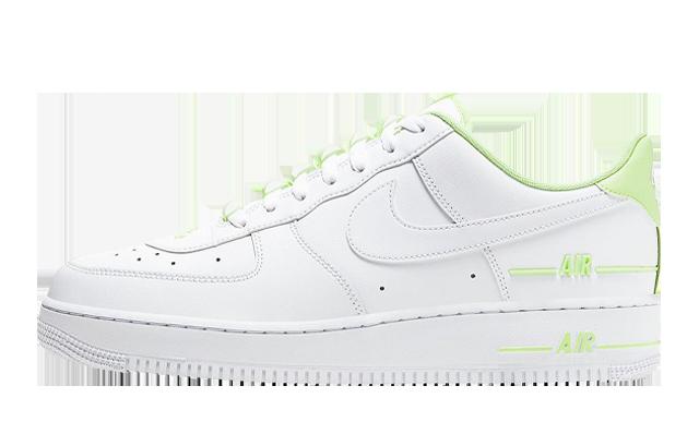 Nike Air Force 1 Double AIR White Volt