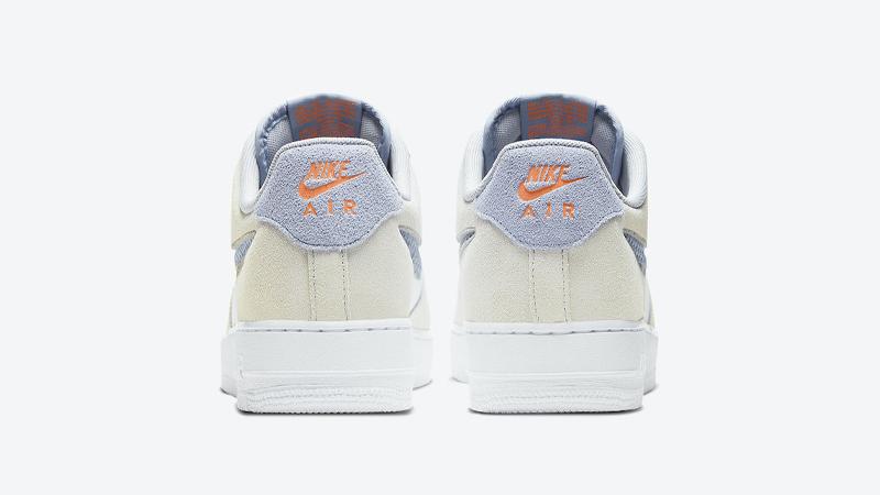 Nike Air Force 1 LV8 Pure Platinum Indigo Fog Back