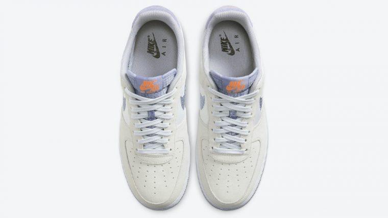 Nike Air Force 1 LV8 Pure Platinum Indigo Fog Middle thumbnail image
