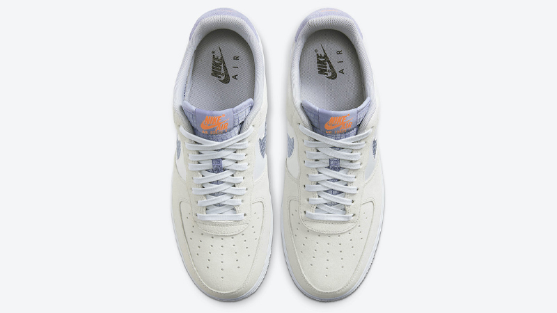 Nike Air Force 1 LV8 Pure Platinum Indigo Fog Middle