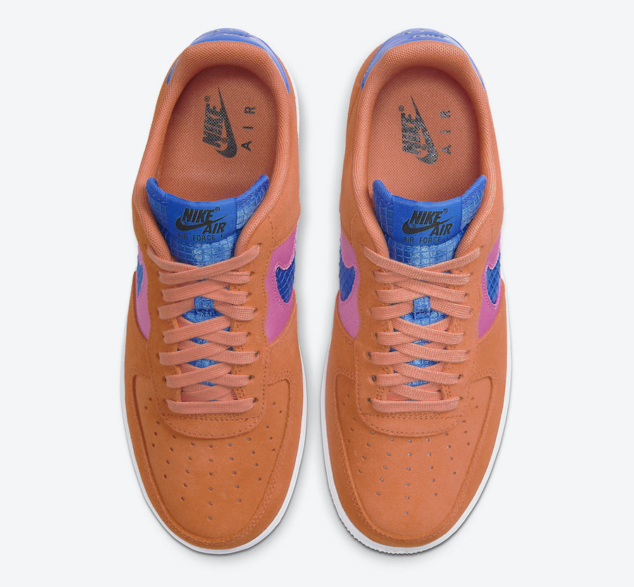 Nike-Air-Force-1-Low-Orange-Trance-CW7300-800-Release-Date-2 laces