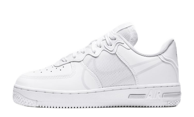 Nike Air Force 1 React White