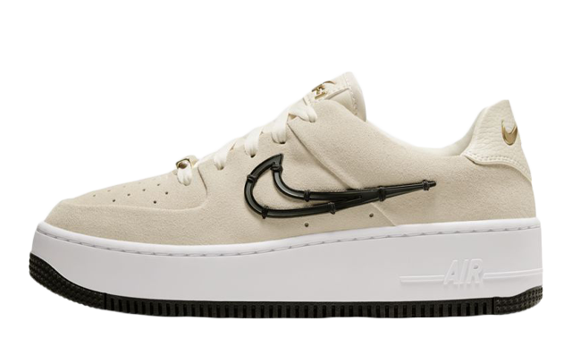 Nike Air Force 1 Sage Low LX Light Cream Metallic Gold
