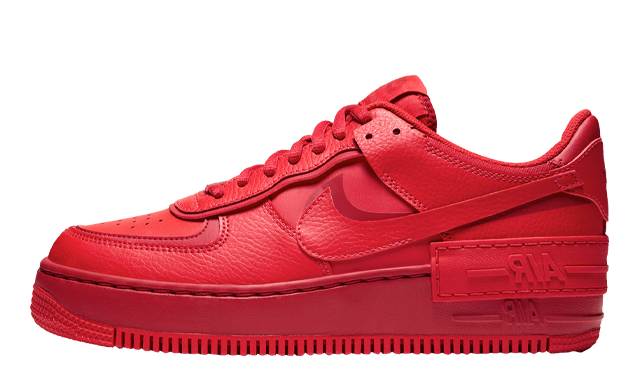 Nike Air Force 1 Shadow Red