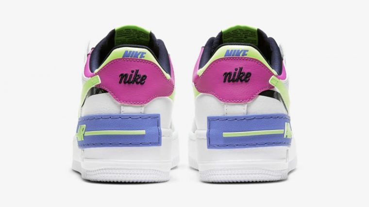 Nike Air Force 1 Shadow Sapphire White Back thumbnail image