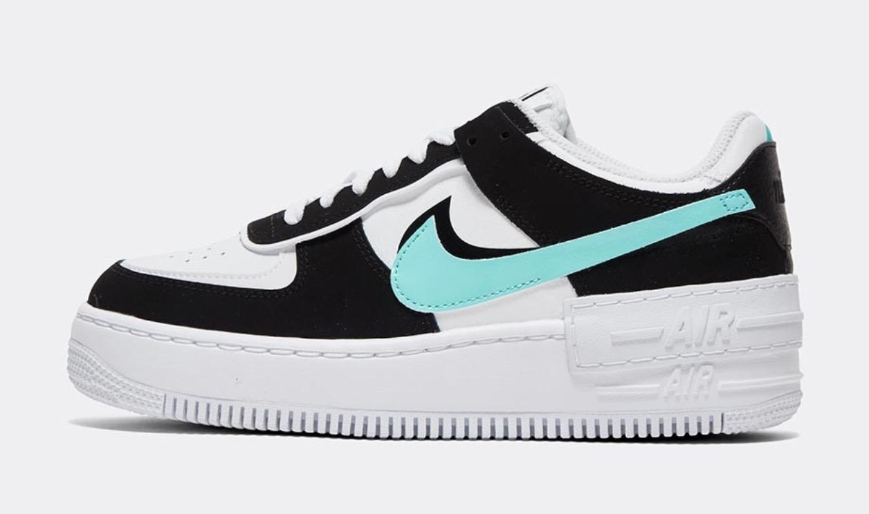 Nike Air Force 1 Shadow White Aurora