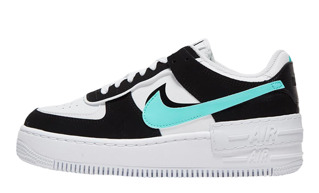 Nike Air Force 1 Shadow White Black