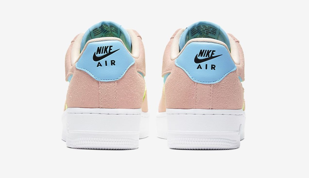Step Into Summer In This Vibrant Washed Coral Air Force 1