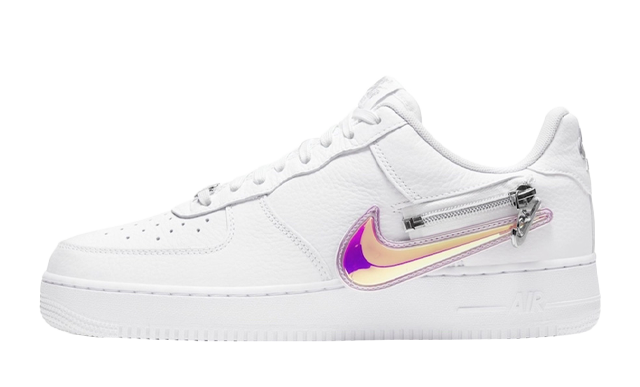 Nike Air Force 1 Zip-On Swoosh White