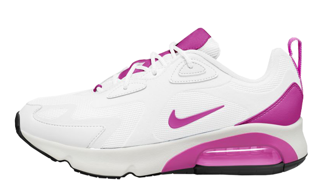 Nike Air Max 200 White Fire Pink