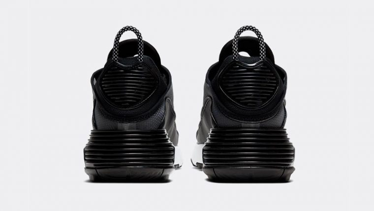 Nike Air Max 2090 Black Metallic Silver Back thumbnail image