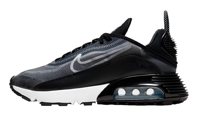 Nike Air Max 2090 Black Metallic Silver