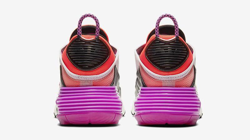 Nike Air Max 2090 Iced Lilac Black Pink Back
