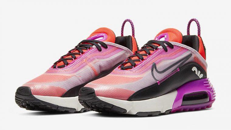 Nike Air Max 2090 Iced Lilac Black Pink Front thumbnail image