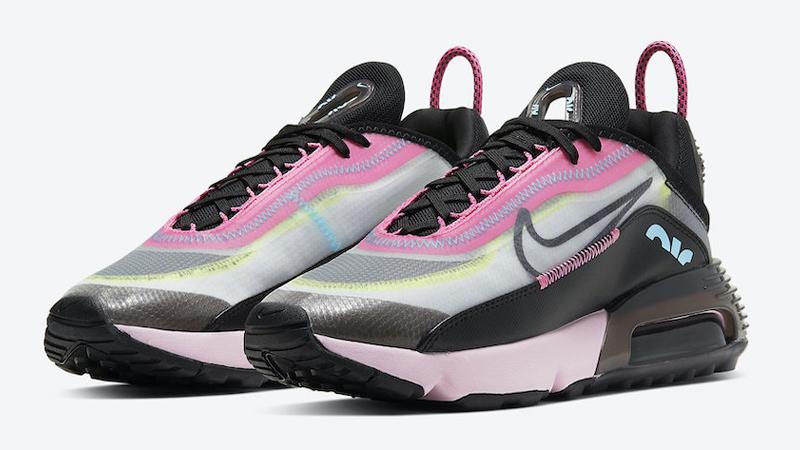 Nike Air Max 2090 Pink Black Front