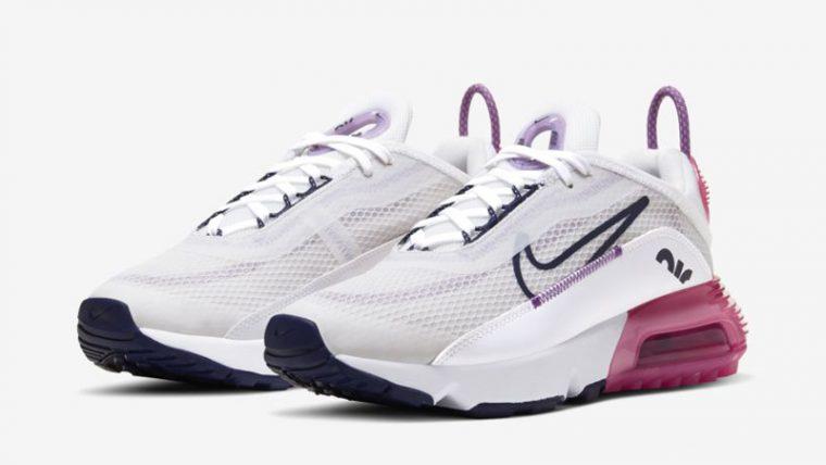 Nike Air Max 2090 Platinum Tint Purple Front thumbnail image