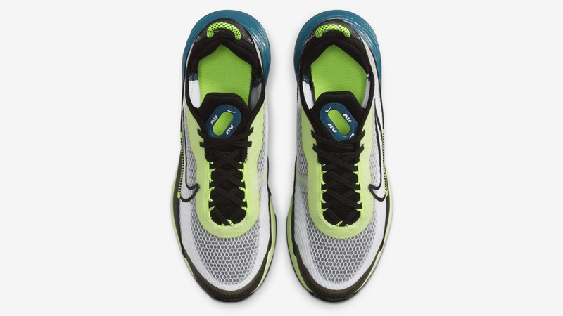 Nike Air Max 2090 White Black Volt Middle