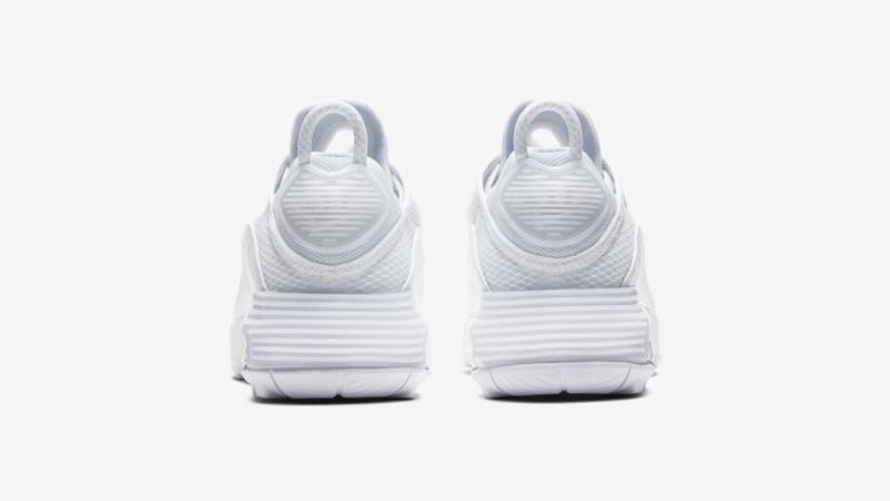 Nike Air Max 2090 White Wolf Grey Back