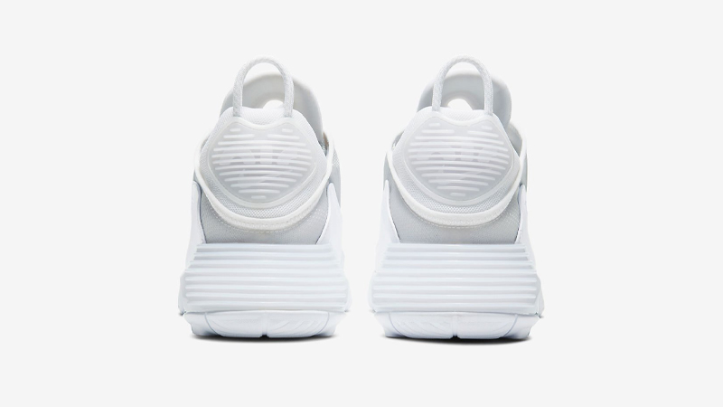 Nike Air Max 2090 White Wolf Grey Back