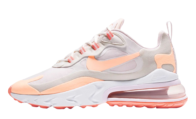 Nike Air Max 270 React Summit White Crimson Tint